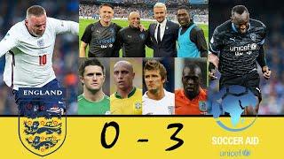 ЗВЕЗДЫ АНГЛИИ 0 3 СБОРНАЯ МИРА Goals Highlights England XI vs Soccer Aid World XI