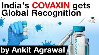 Bharat Biotech COVAXIN gets global recognition - No serious side effects of Covaxin said Lancet