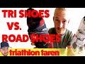 Triathlon Cycling Shoes vs. Road Shoes