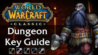 Classic WoW Dungeon Key Guide