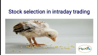 Stock selection in intraday trading_Hindi_MoX