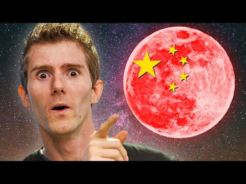 China building their own MOON!?