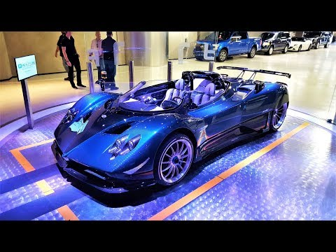 $15 Million Pagani Zonda HP Barchetta From Pagani Miami to Porsche Tower Hurricane Irma Evacuation