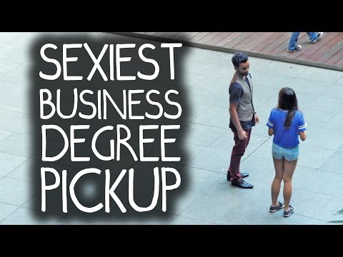 Sexiest Business Degree Pick Up Lines in Real Life!