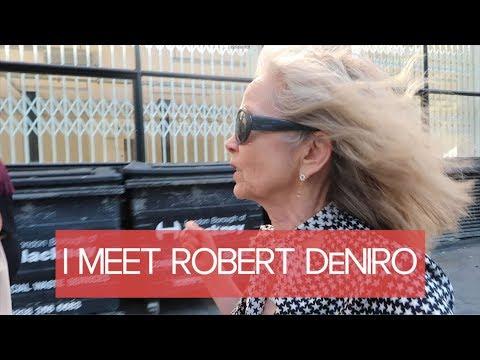 I MEET ROBERT DE NIRO - VLOG #16