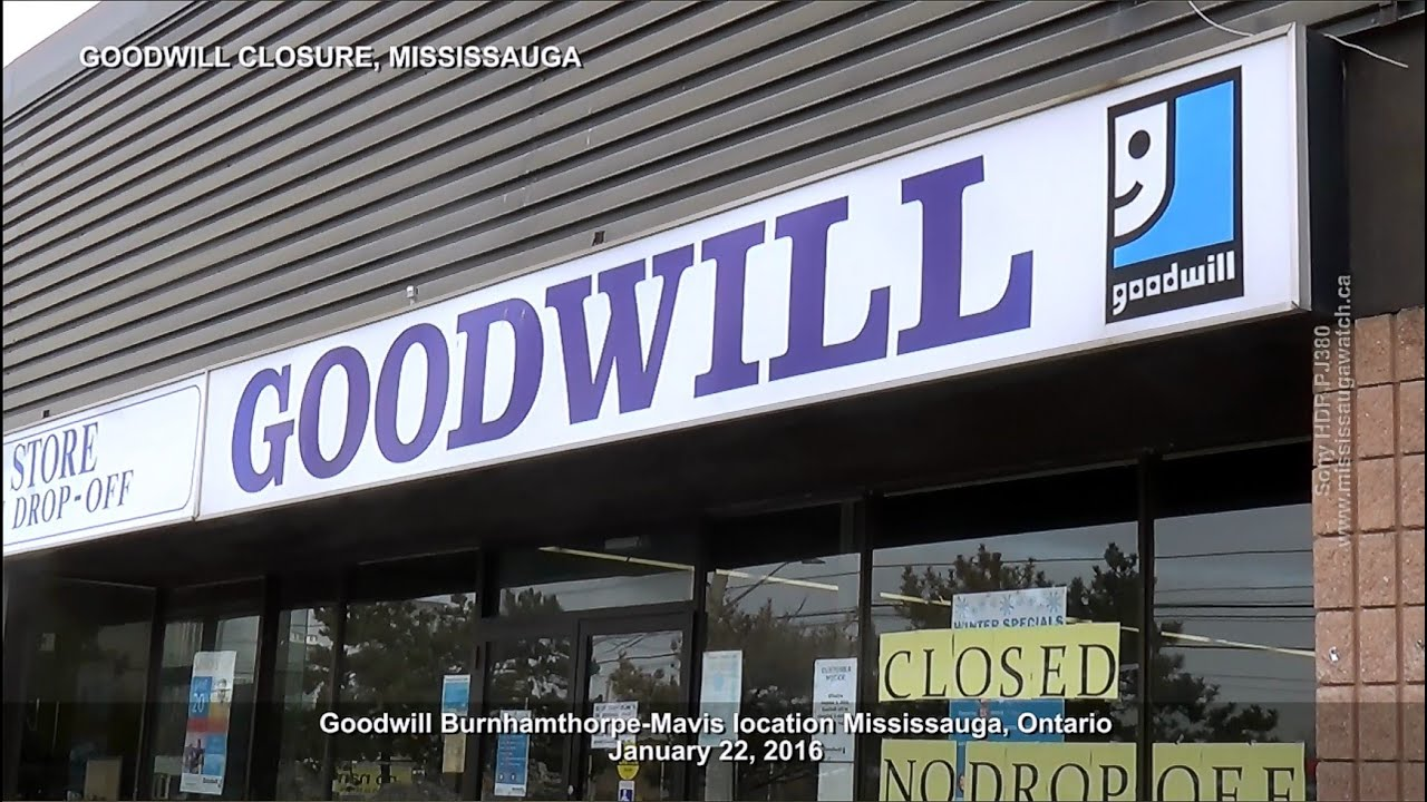 Tv Stores Mississauga Goodwill Closed Mississauga Mavis Location January 22
