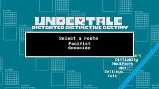 Undertale: Distorted, Distinctive Destiny part 1 demo!