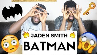Jaden Smith - Batman |Official Reaction
