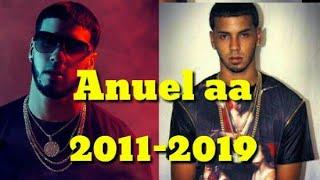Evolución musical de anuel aa (2011-2019)