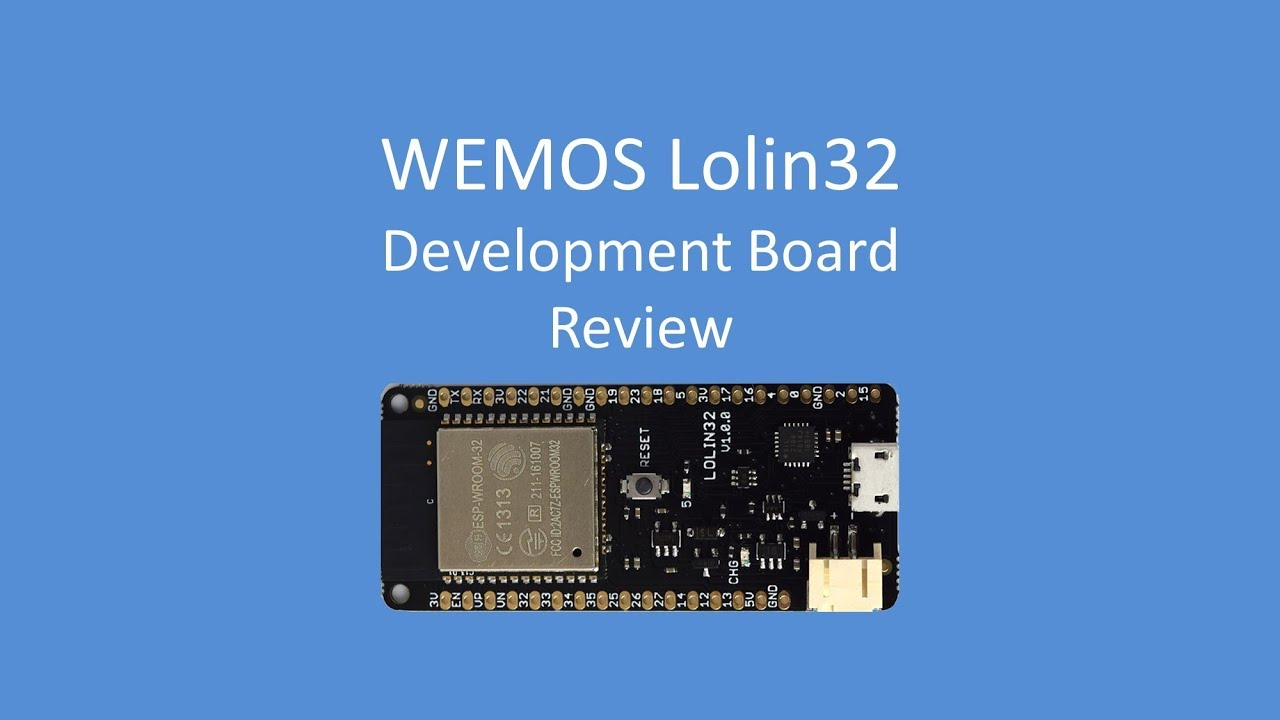 Tech Note 062 - WEMOS Lolin32 (surprisingly low power demands when powered  by 3v3)
