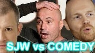 SJW vs COMEDY - Joe Rogan - Jim Norton - Bill Burr