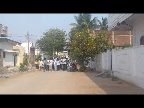 Palm Sunday -  Rev. Sam kalwala & Church going into the streets proclaiming Good news