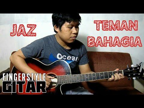 Jaz - Teman Bahagia Fingerstyle Gitar Cover By Rivo Lindo