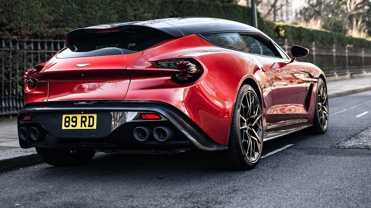 The 1 Million Aston Martin Zagato Shooting Brake Youtube