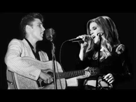 Elvis Presley Duet With Lisa Marie Presley Don't Cry Daddy