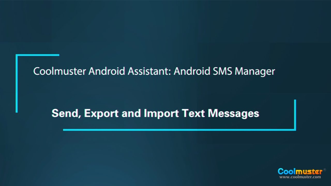 How to Save/Transfer Text Messages from Android to Computer