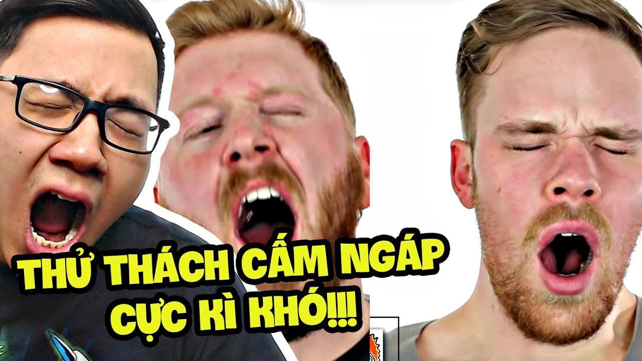 THỬ THÁCH CẤM NGÁP ĐẢM BẢO BẠN SẼ THUA!!! (Sơn Đù Vlog Reaction)