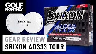 Srixon AD333 Tour Golf Ball Review