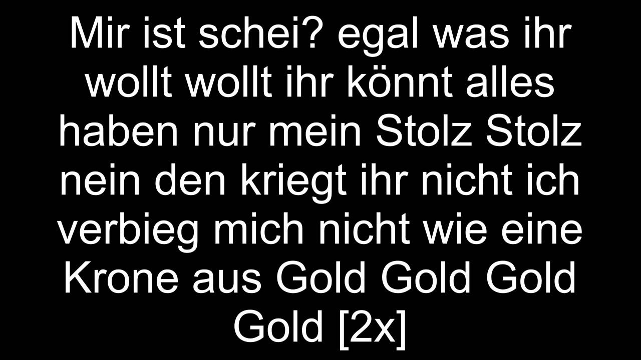Hitch Mir Egal Lyrics Youtube