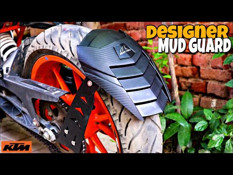 DESIGNER Mud Guard For All Motorcycle  Techno khan