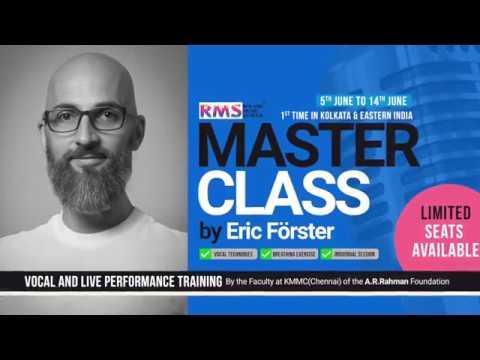 Masterclass by Eric Forster | Roland Music School Kolkata