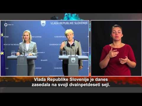 52. redna seja Vlade Republike Slovenije
