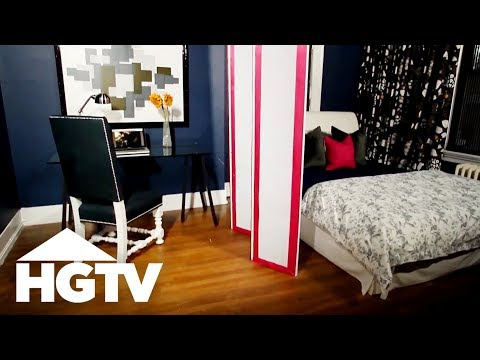 How to Make an Upholstered Room Divider - HGTV