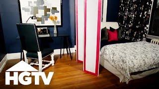 How To Make An Upholstered Room Divider - Hgtv