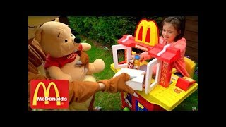 McDonald's Drive Thru  Pretend Play Kids Fun