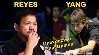 Reyes vs Yang - 2004 - Unexpected Magic End