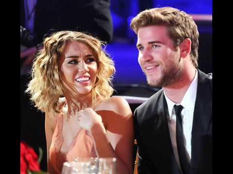 Известный пары( Майли Сайрус и Лиам Хемсворт/Miley Cyrus and Liam Hemsworth)