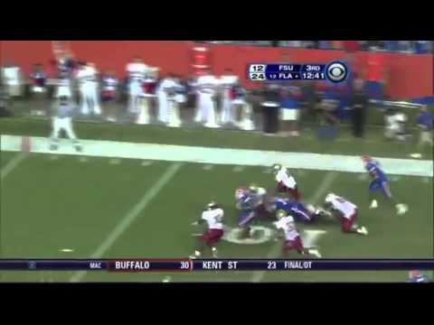 2007 #12 Florida Gators vs. Florida State Seminoles