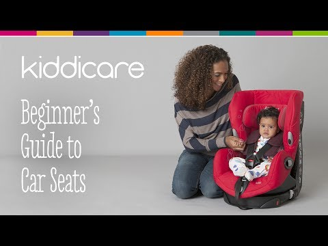 A Beginners Guide to Car Seats   Kiddicare