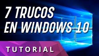 TIPS y TRUCOS ocultos en Windows 10