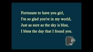 Maxwell - fortunate (lyrics)