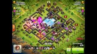 Clash of Clans 100% Raid Titan Attack by Kairoz Clan Colombia