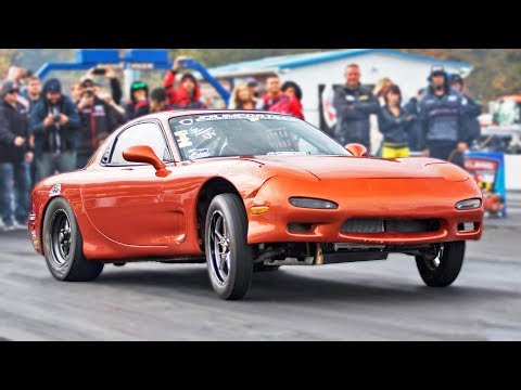 WILDEST Rx-7 We've Ever FILMED!