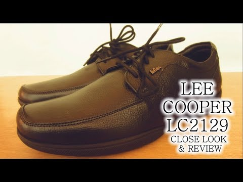 LEE COOPER LC2129 Men's Leather Formal Shoes Close Look & Review