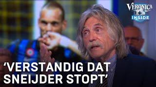 Johan Derksen over stop Wesley Sneijder: 'Heel verstandig dat hij stopt met voetballen'