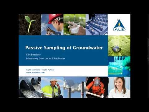Webinar Wednesday: Passive Sampling for Groundwater