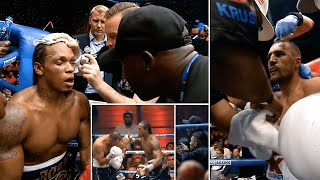 Corner Cam: What Tunde Ajayi said to Anthony Yarde during and in between rounds against Kovalev
