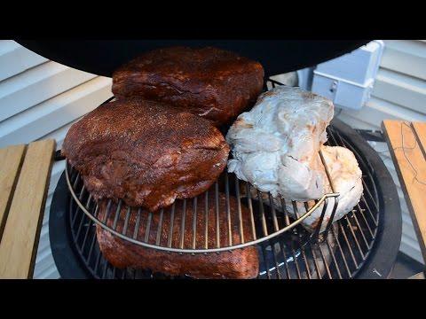 How To Low & Slow on a Kamado Joe (& make great pulled pork too)