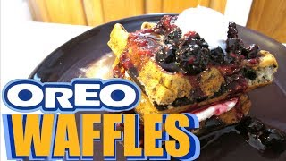 Oreo Waffles - Speedy Cooking Videos - PoorMansGourmet