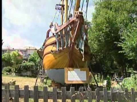 Handbuilt Pirate Ship for Sale - YouTube