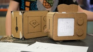 How to make a cardboard prototype
