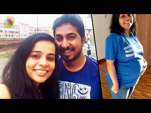 അച്ഛനാകുന്ന സന്തോഷത്തിൽ വിനീത്    Vineeth Sreenivasan & Veena To Become Parents Soon