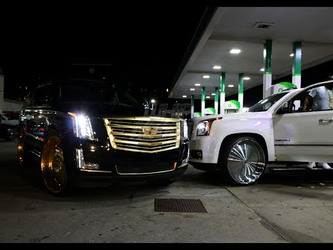 WhipAddict: 107.9 Birthday Bash Night in Atlanta! Escalade & Denali on Rucci Forged 30s, Custom Cars
