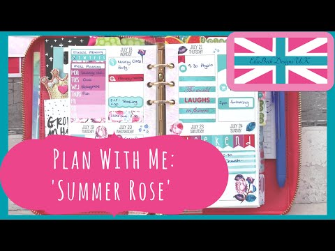 Plan With Me: 'Summer Rose' in Sew Much Crafting WO2P