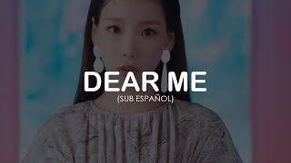 Download Dear Me| Taeyeon | sub español