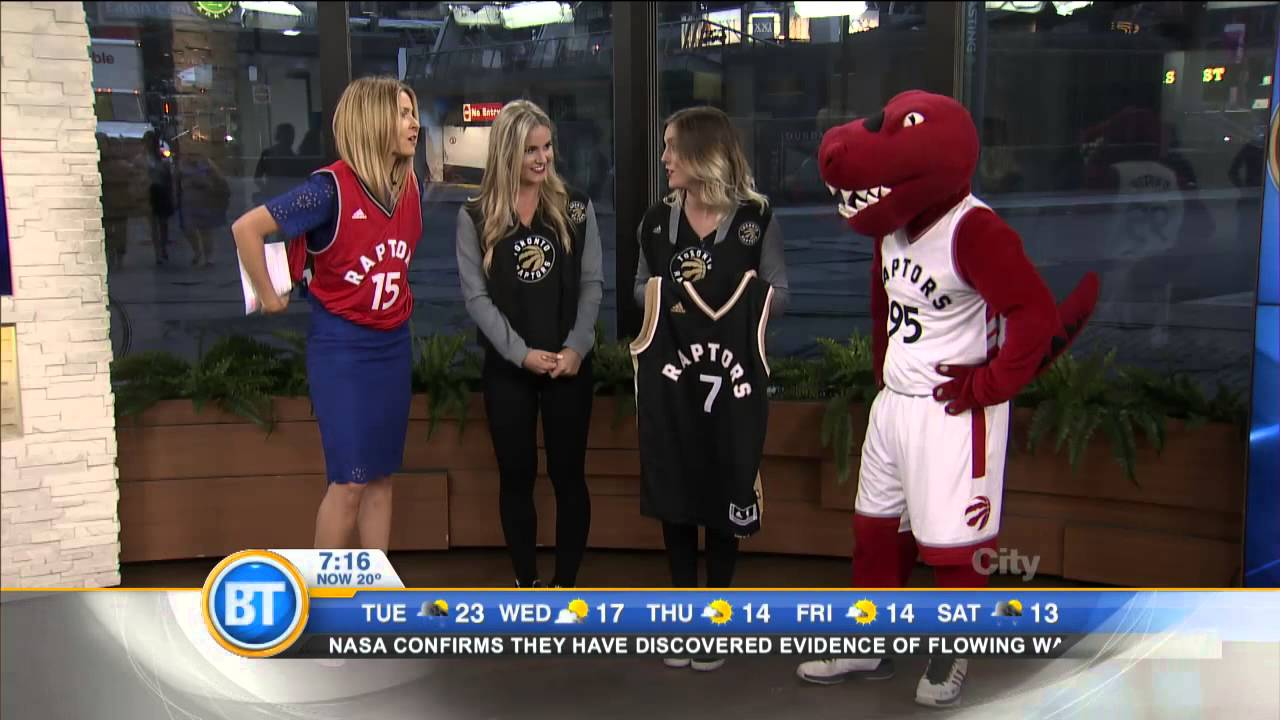 Take a look at the new Raptors jerseys! - YouTube ff32d3528